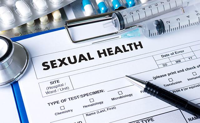 性病検査のイメージ