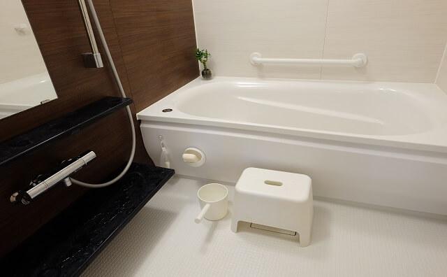 浴室にスケベ椅子があるイメージ